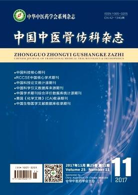 中国中医骨伤科杂志